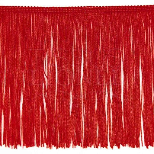 frange 30 cm rouge