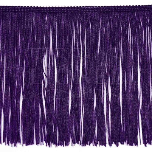 frange 30 cm violet