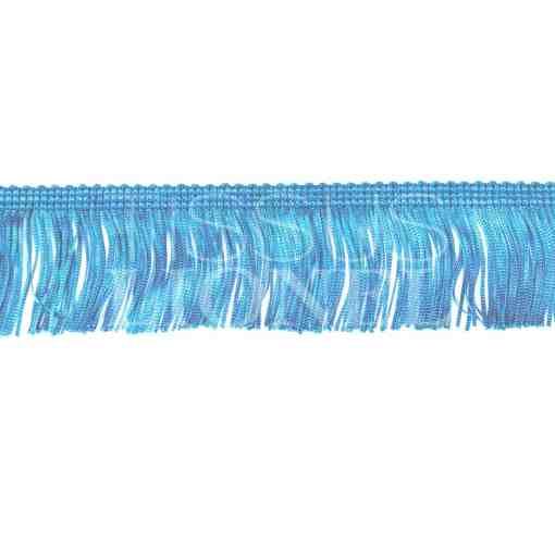 frange 5 cm bleu ciel