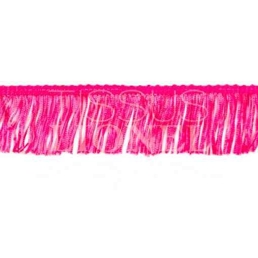 frange 5 cm rose fluo