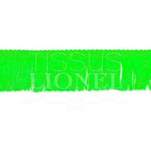 frange 5 cm vert fluo