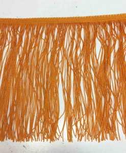 Frange orange 20 cm