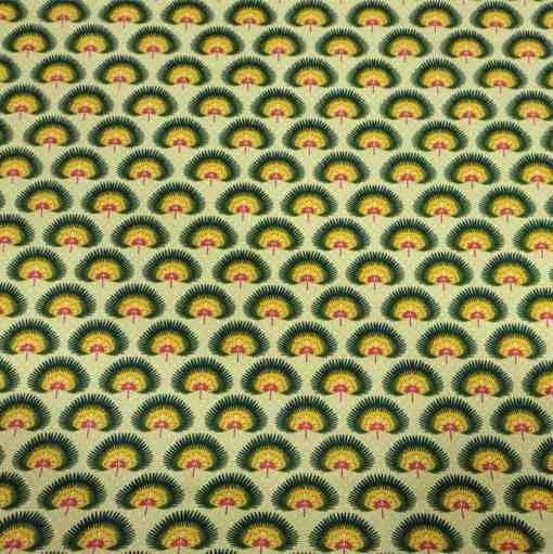 Coton zanzibar jaune
