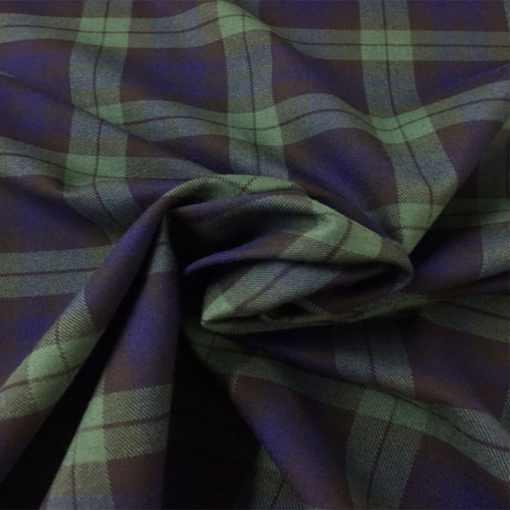 Tissu tartan écossais Moray