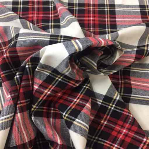 Tissu tartan écossais Tweeddale