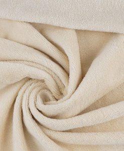 Tissu éponge bambou hydrophile ivoire