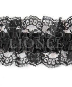 jartelle noir avec dentelle noir