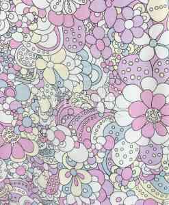 Jersey Magique fleurs avec uv