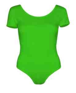 Lycra shiny Neon green