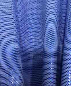 Lycra pailleté fond ciel pailleté bleu hologramme