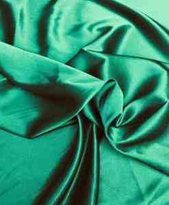 Lycra satin vert