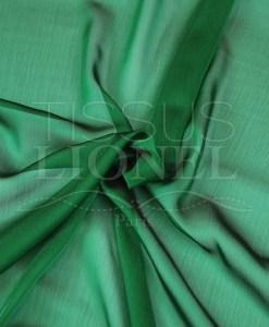 mousseline changeante deux files vert et noir