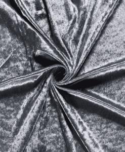 Panne de velours gris