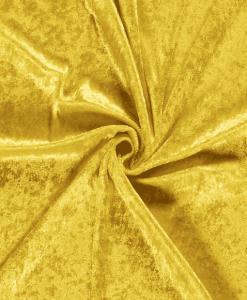 Panne de velours jaune