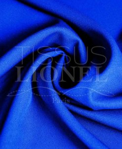 toille polyester vlakte royal blue