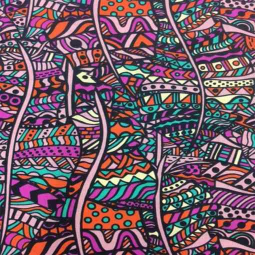 Popeline de coton style africain badou 2
