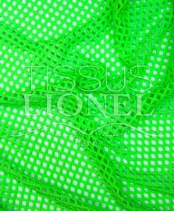 résille grosse maille vert fluo