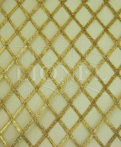 resille doré et or