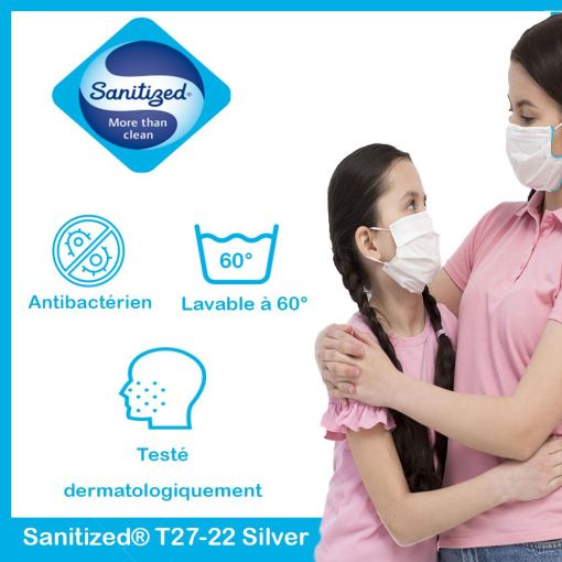 Sanitized® T27-22 Silver