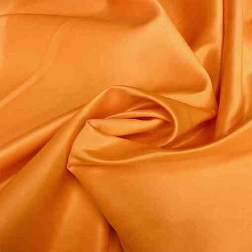 Satin duchesse orange