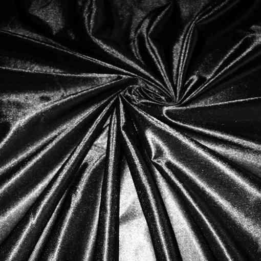 Satin maille charmeuse noir