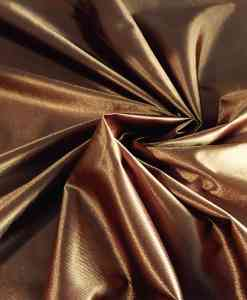 Satin maille charmeuse tabac