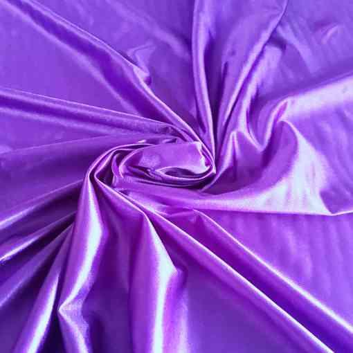 Satin maille charmeuse violet