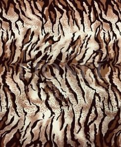 Tissu Burlington tigré