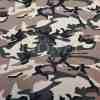 Tissu coton elasthanne camouflage