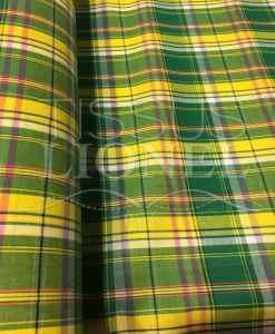 Tissu coton madras 064