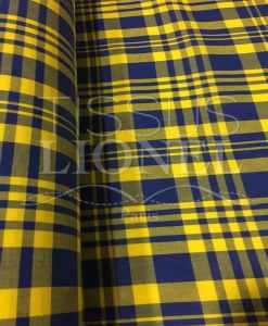 Tissu coton madras 065