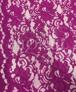 кружева зубчатой швейной ткань малина