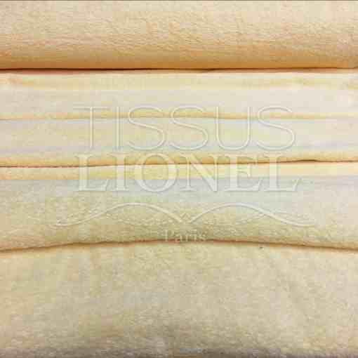 Tissu eponge poudre