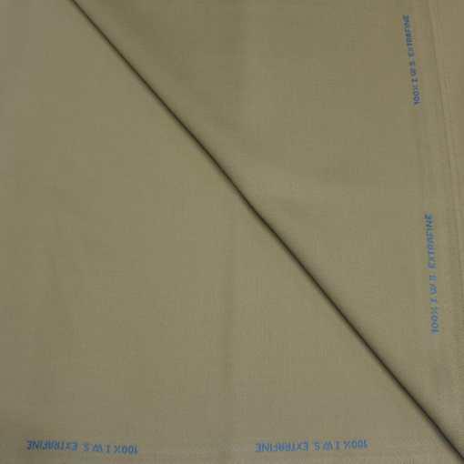 Tissu lainage beige fonce by Woolmark