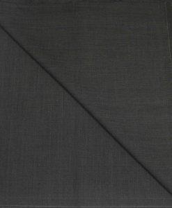 Tissu lainage gris anthracite à carreaux