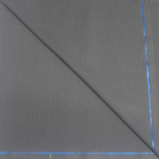 Tissu lainage gris anthracite pure laine