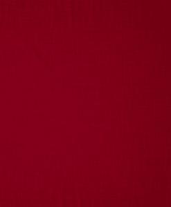 Tissu polyester panama rouge