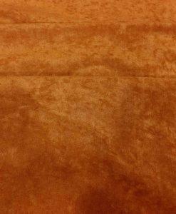 Tissu suédine brique