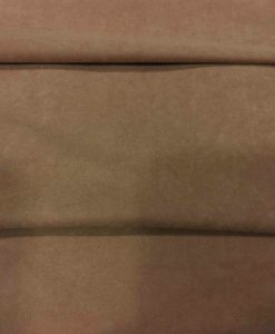 Tissu suédine chamoi