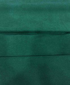 Tissu suédine vert bouteille