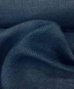 Fabric navy burlap