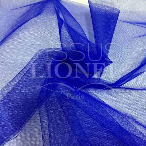 Tissu tulle bleu royal