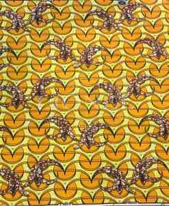 Tissu Wax Africain Coton Imprim