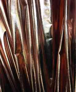 Vinyl lame brown