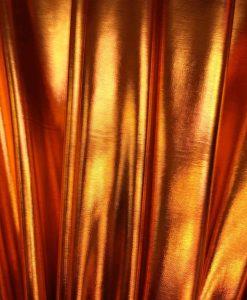 Vinyl lamé orange