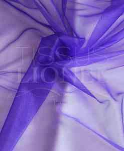 voile cristal violet