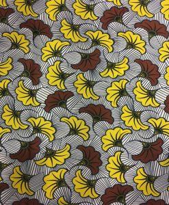 Wax- Tissus africain Fleurs de mariage
