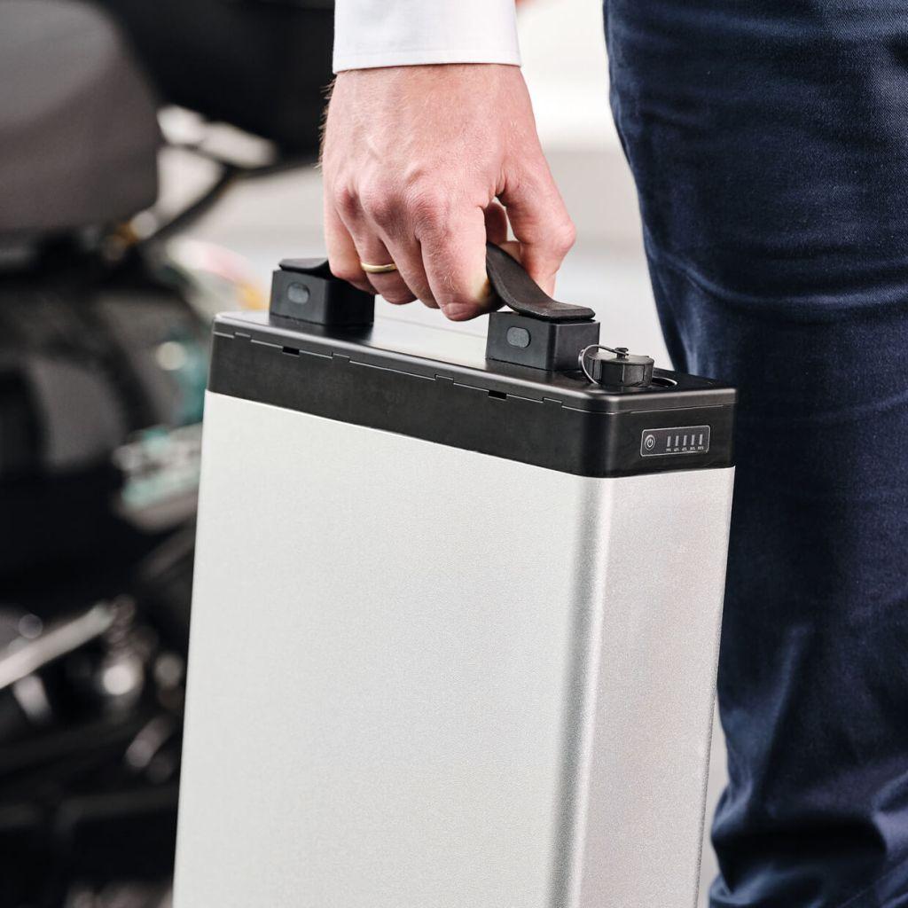 Batterie/Akku eines Elektrorollers