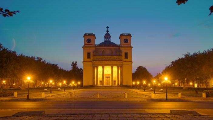 A váci Székesegyház és a Konstantin tér