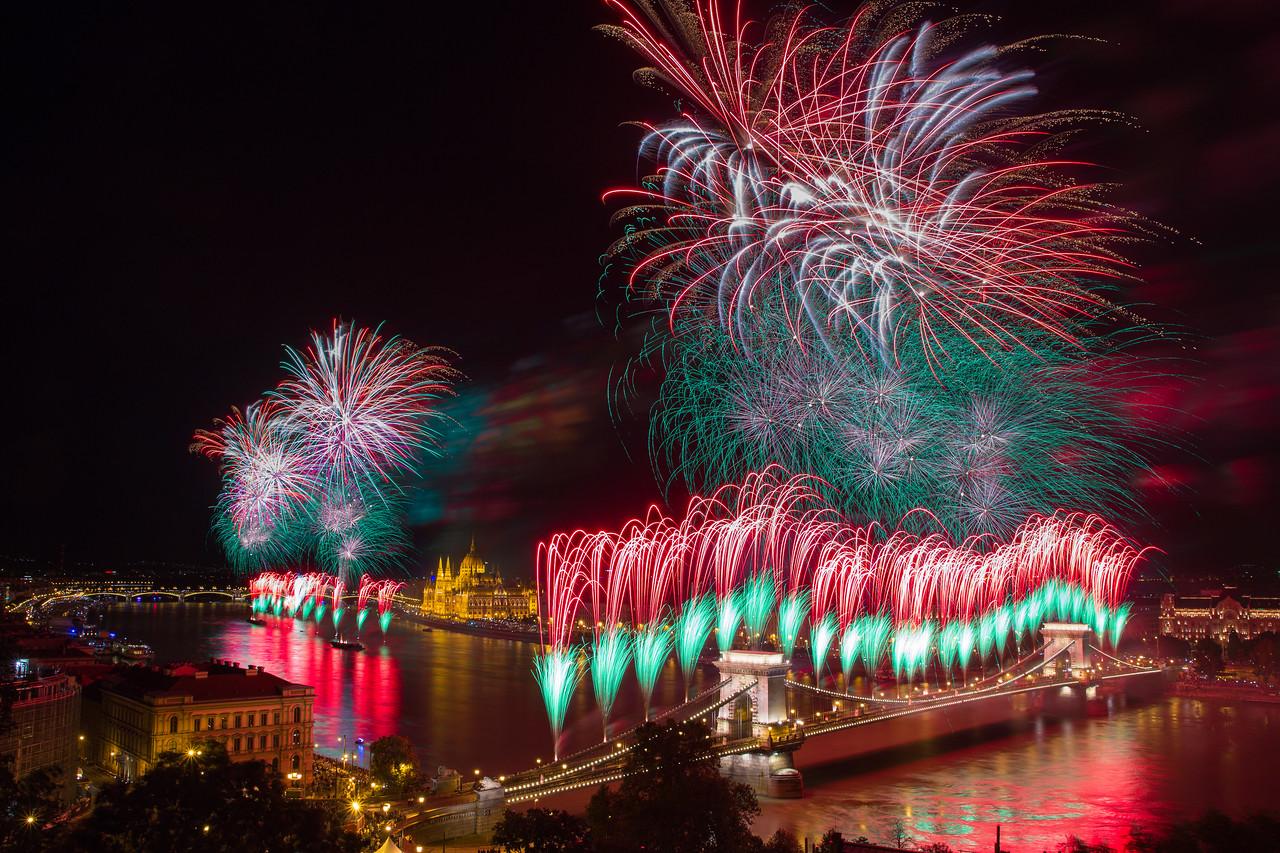 Tűzijáték fotózás a legegyszerűbben (beállítások + utómunka)